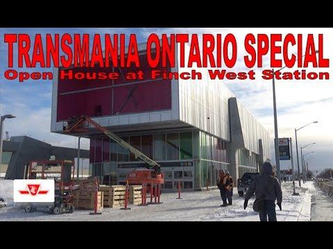 TO SPECIAL - Open House at Finch West Station