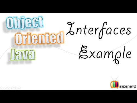 65 Java Interfaces Example  