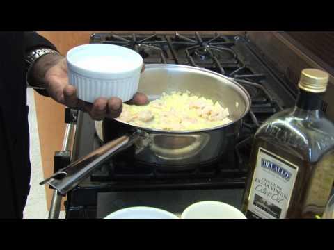 Shrimp Alfredo by Chef Jay
