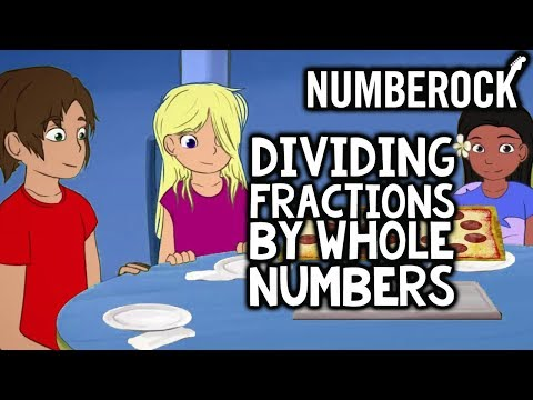 Dividing Fractions by Whole Numbers Song by NUMBEROCK