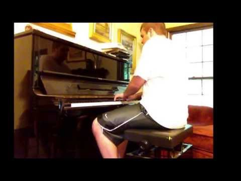 I tried to challenge myself to improvise like a concert pianist for fun. Not serious playing. :)