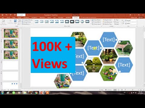 How to create collage of Photos in seconds in Powerpoint 2016