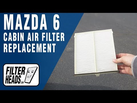 How to Replace Cabin Air Filter 2014 Mazda 6