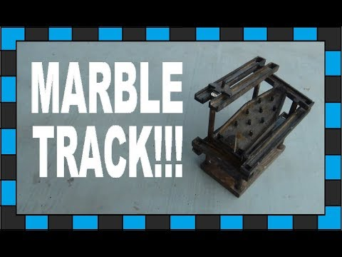 How To Build A Marble Run Track!!!