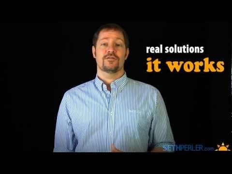 SethPerler.com, Helping Struggling Students Shine
