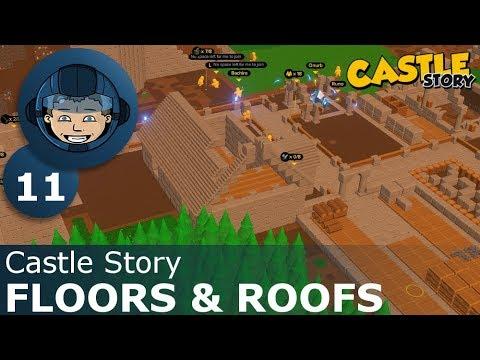 FLOORS & ROOFS - Castle Story: Ep. #11 - Gameplay & Walkthrough