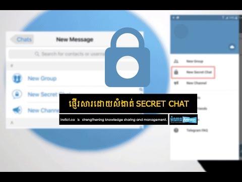 How to use Telegram Secret Chat