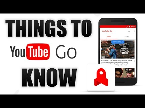 Things To Know About YouTube GO!!