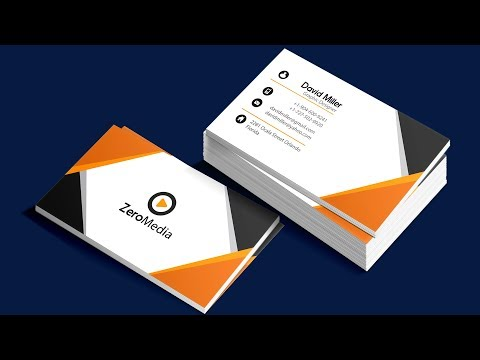 How to make Business Card in Adobe Illustrator