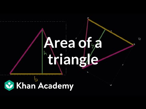 Area of triangles intuition | Algebra I | High School Math | Khan Academy