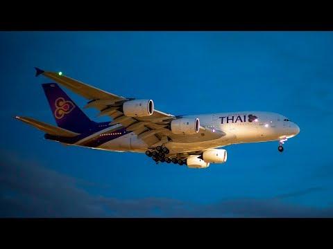 Heathrow Airport 2018 Pt7 Night arrivals
