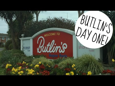 BUTLINS BOGNOR REGIS 2016 | DAY ONE