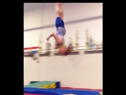 Round Off Back Handspring Full Twist Tips With Coach Meggin!