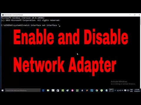 How to enable and disable network  adapter in windows 10   #networkadapter #computerrepair #techtip