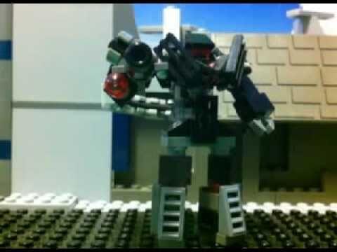 Lego Transformers Mini DOTM Shockwave REMAKE