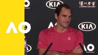 Roger Federer press conference (2R) | Australian Open 2019