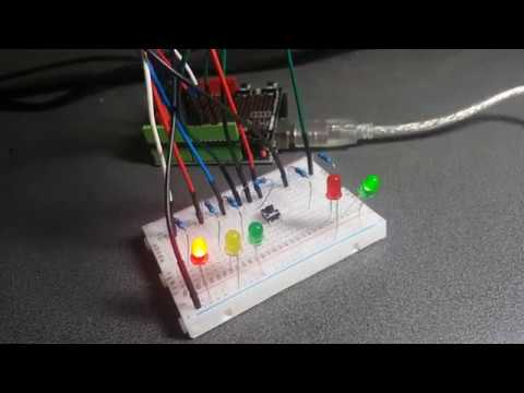 HOW TO MAKE YOUR OWN MINI TRAFFIC LIGHT (DIY)