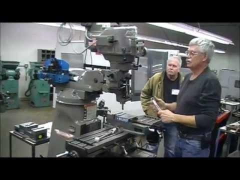 Bridgeport Type Milling Machines- Demonstration of features