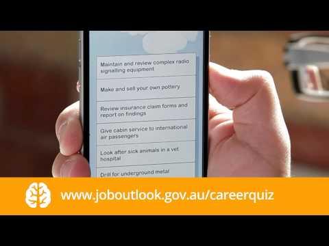 Career quiz  - High school age