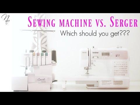 Sewing Machine vs. Serger   Nadira037