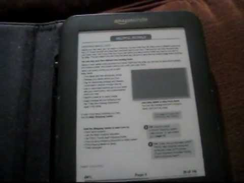 Kindle - free PDF books, and scans (by email)