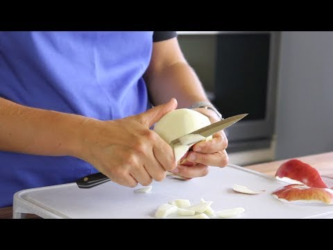 An Easy Way to Slice Apples