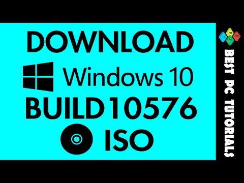 Download Windows 10 Build 10576 ISO