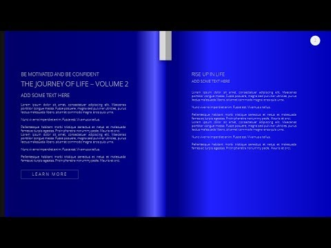 How To Design Beautiful Text Based Slide in Book Style in Microsoft Office 365 PowerPoint PPT