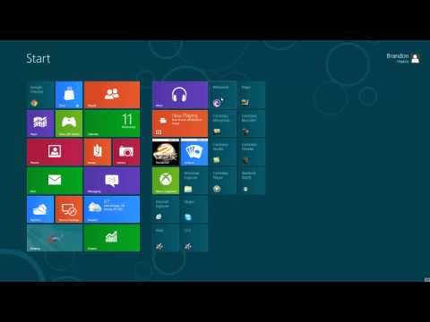 Windows 8 Guide: How to Pin Things/Icons to task bar in Windows 8 [Ep.2]