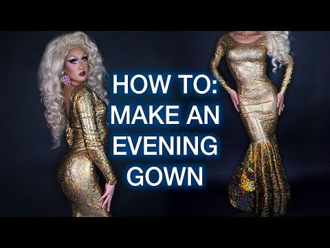 How To Sew An Evening Gown!