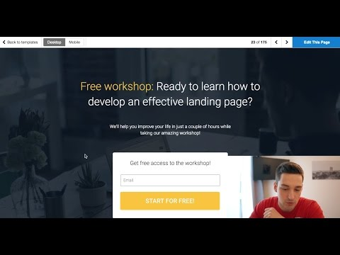 How To Create A Landing Page - Wordpress Tutorial