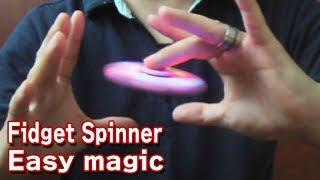 Download 簡単 ! ハンドスピナー マジック Easy! Floating fidget spinner magic trick. Video