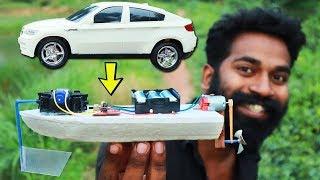 RC CAR TO RC BOAT MAKING | ഒരു റിമോട്ട് കണ്ട്രോൾ ബോട്ട് ഉണ്ടാക്കിയാലോ  | M4 TECH |