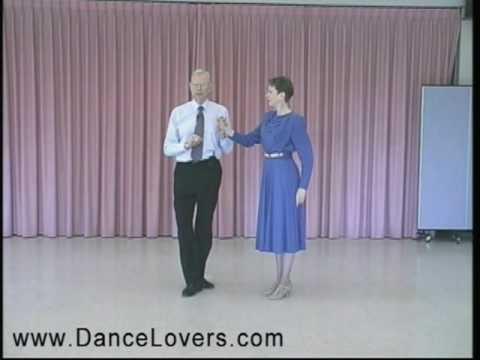Learn to Dance the Foxtrot - Right Side Fan - Ballroom Dancing
