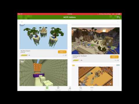 How To Download Free Worlds/Texture Packs In Minecraft Working 2017 IOS AND ANDROID!