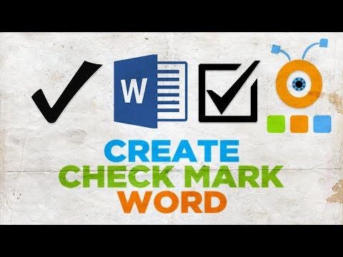 How to Create a Check Mark in Word | How to Make a Checkbox in Word