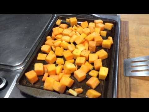 Easy Oven Roasted Butternut Squash