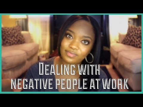 #194: DEALING WITH NEGATIVE PEOPLE AT WORK