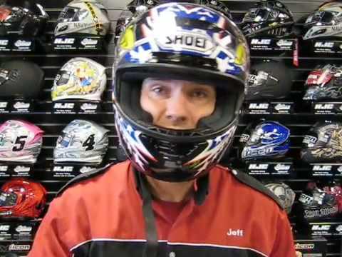 The Helmet Center on proper helmet fit - TheHelmetCenter.com