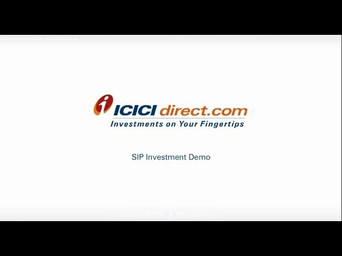 How to Invest in Mutual Fund via SIP mode at ICICIdirect.com in Hindi
