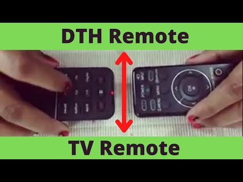 How to make DTH Remote to Universal Remote