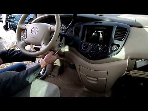 Mazda MPV Multifunction Switch Removal