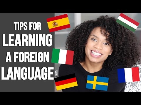 LEARN A NEW LANGUAGE QUICKLY! | Tips for Practicing a Foreign Language