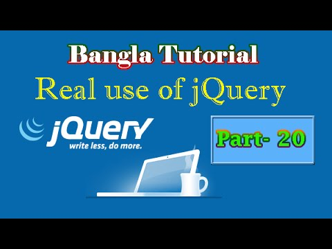 Real use of jQuery - Background Color Animation (Part-20)
