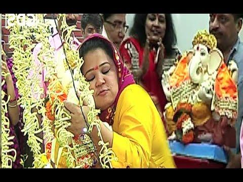 Xxx Mp4 Bharti SIngh Cute Video HUGGING Ganpati Bappa 3gp Sex