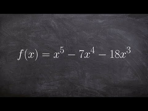 Learning to Find the Solution of a Polynomial to the 5th Power by Factoring