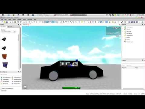 How to make a very good car on Roblox!!!(2014)