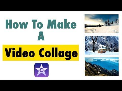 How To Make Video Collage in iMovie  | VORTEx.