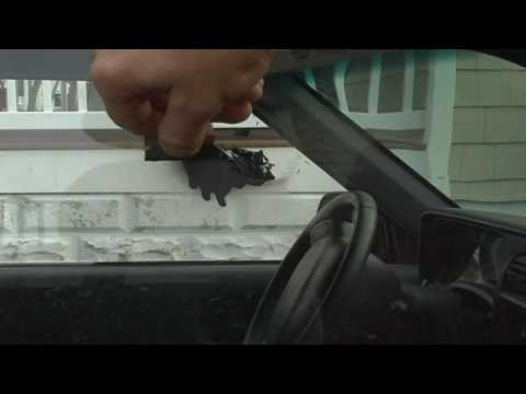Car Maintenance : How to Get Car Paint Off of Windows