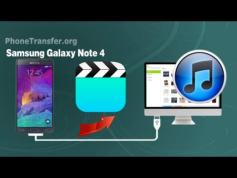 How to Sync Videos from Samsung Galaxy Note 4 to iTunes, Transfer Note 4 Movies to iTunes on Mac
